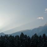 Wenn die Berge Schatten in die Höhe werfen…