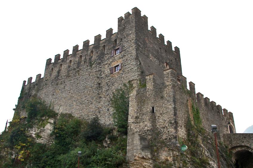 Burg tenno Gardasee