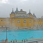 Genial gebadet: Im Széchenyi Bad in Budapest