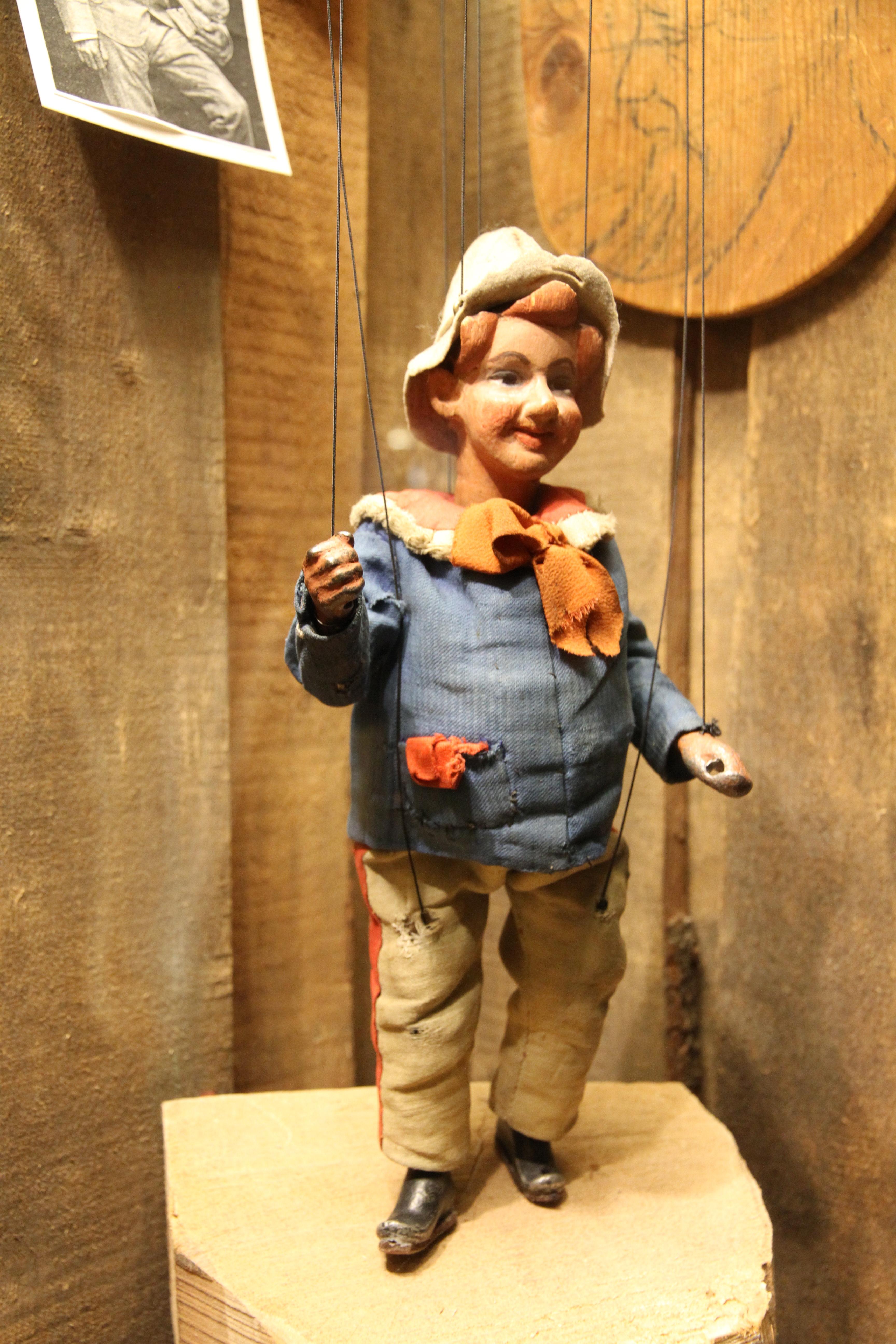 Der Kasperl: Noch immer ein lustiger und zarter Charakter im Salzburger Marionettentheater.