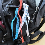 Meine drei Dinge im Rucksack