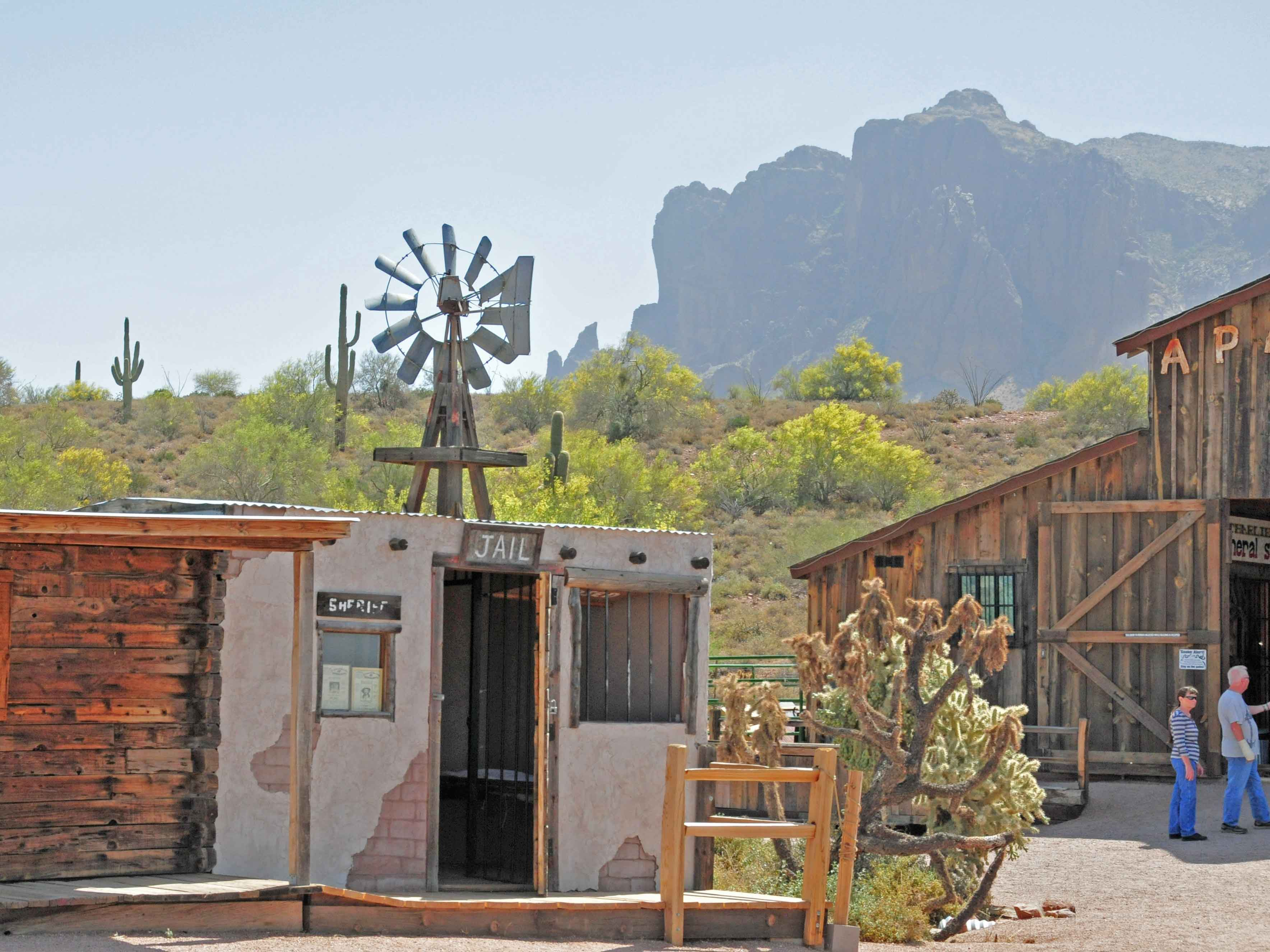 Gefängnis im Superstition Mountain Museum