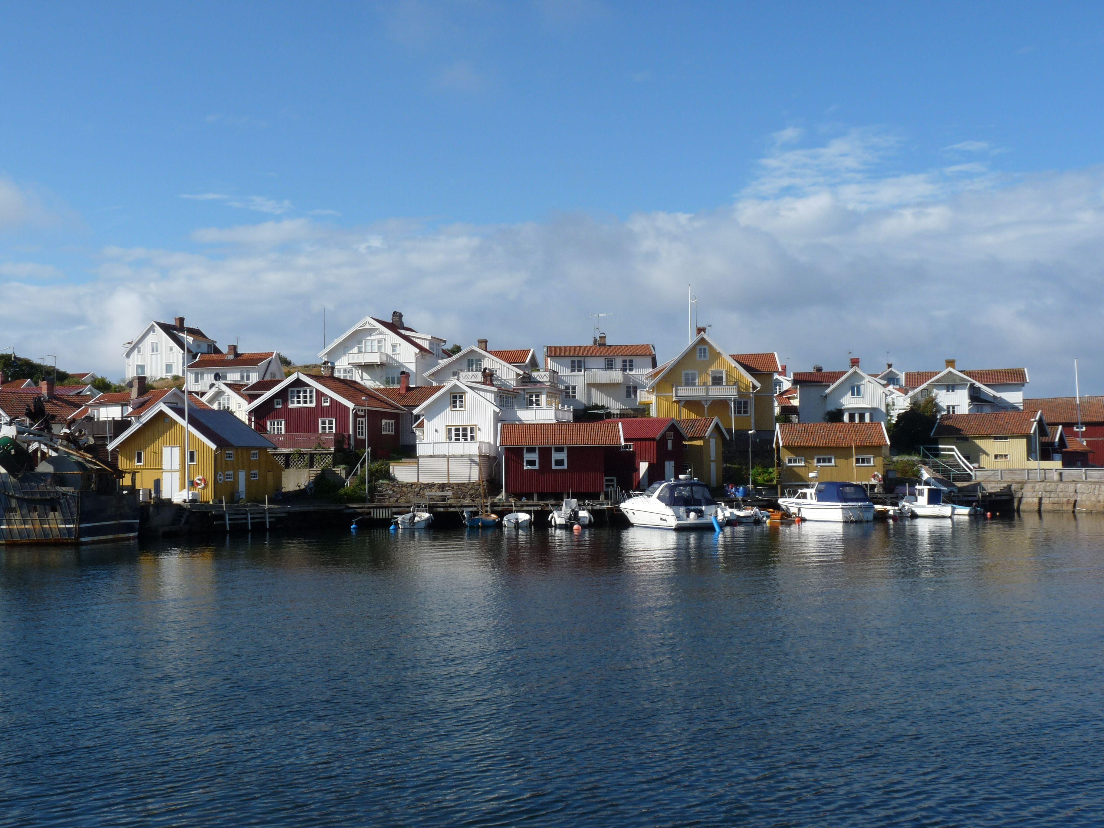 Grundsund an Buhusläns Küste