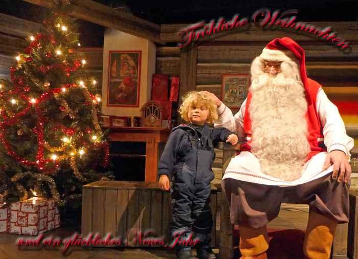 Weihnachtsmann in Rovaniemi