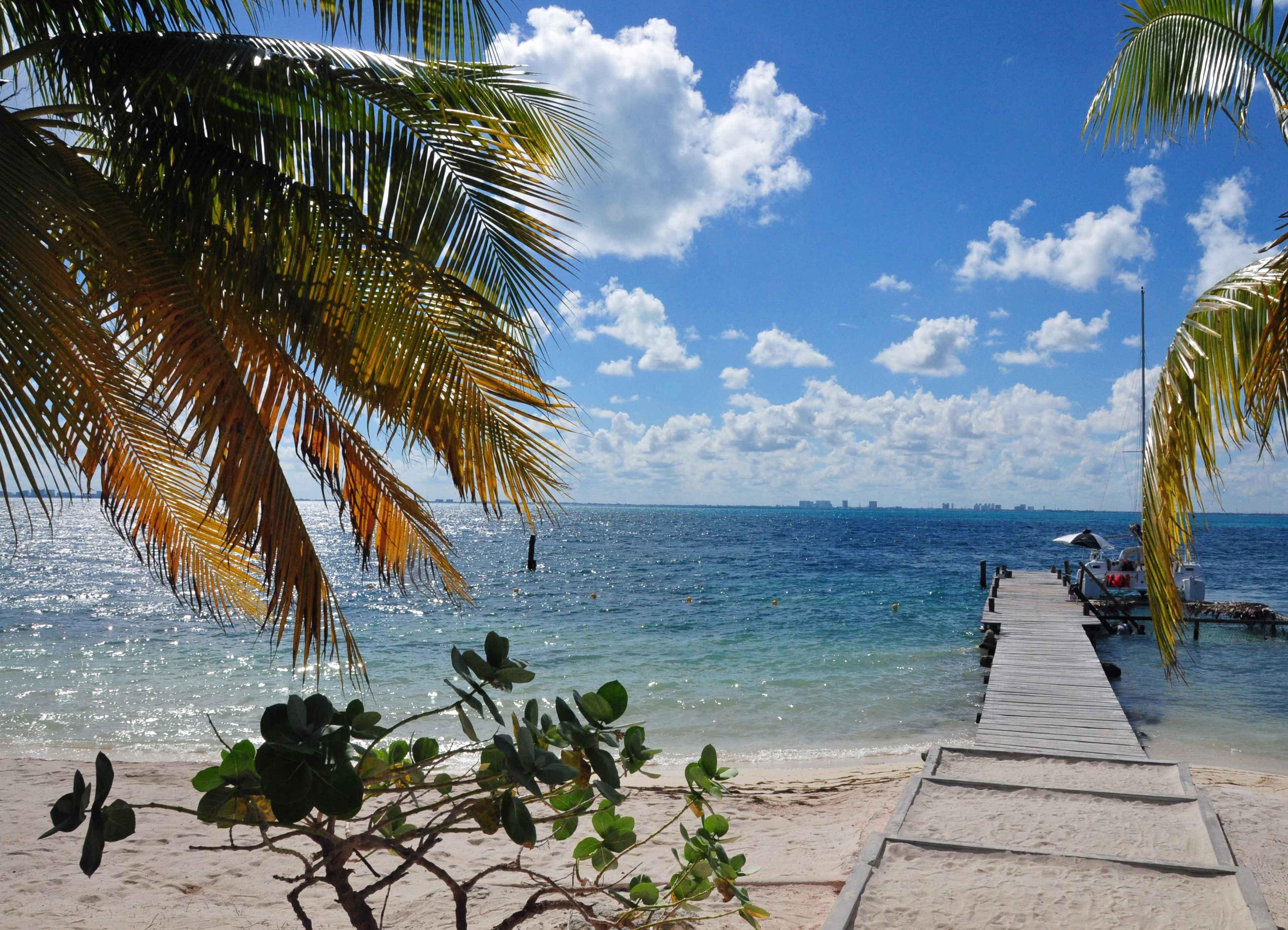 Traumstrand auf der Isla Mujeres.