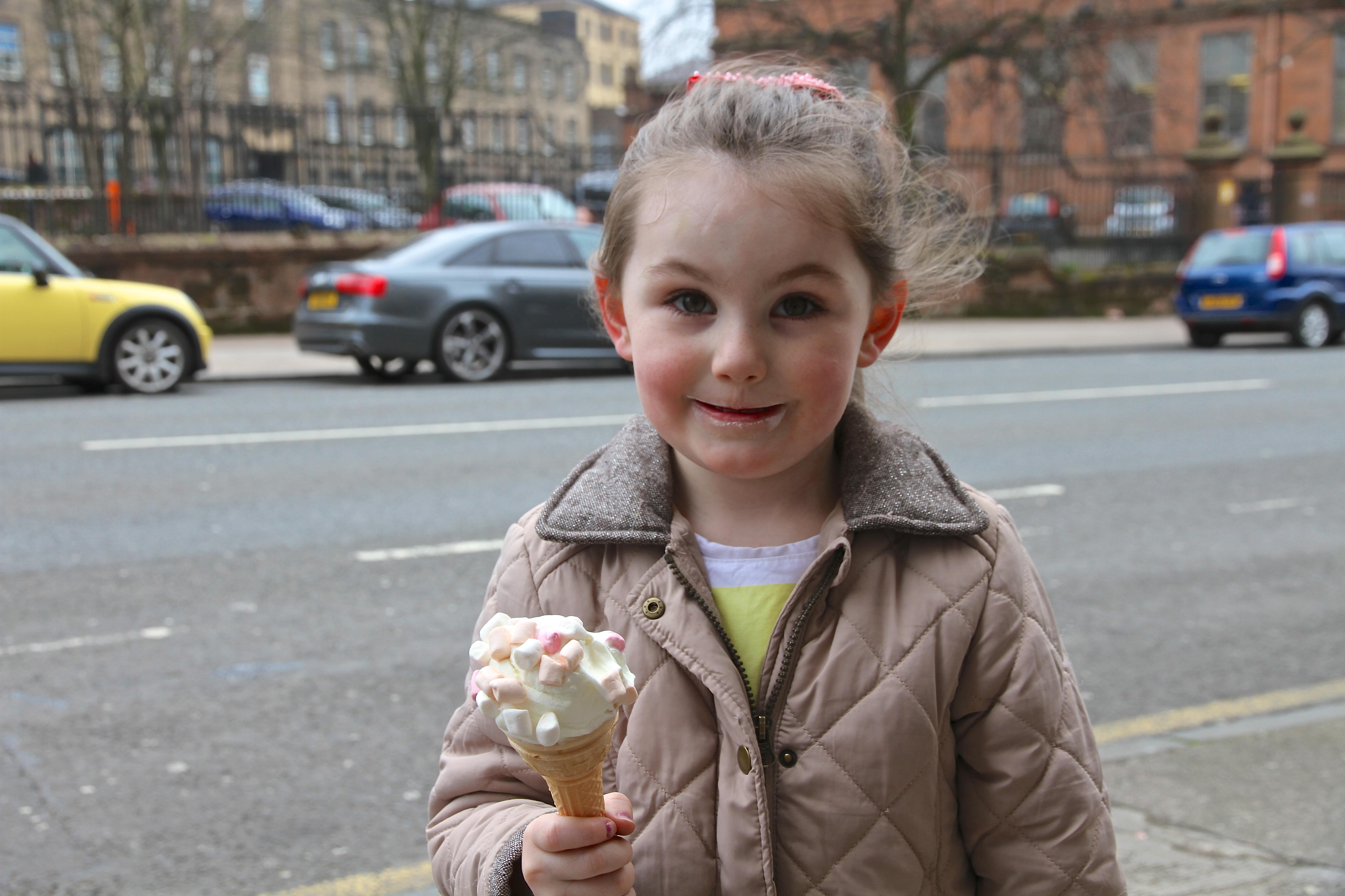 Das leckerste Eis von Glasgow.