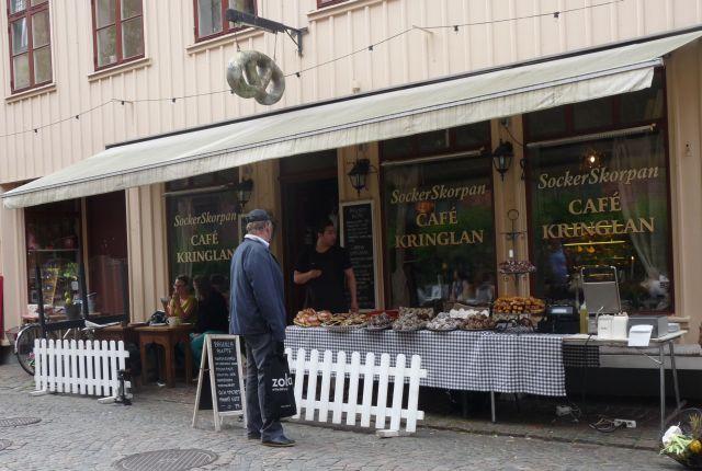Ein Muss: Cafe Kringlan in der alten Arbeitervorstadt Haga