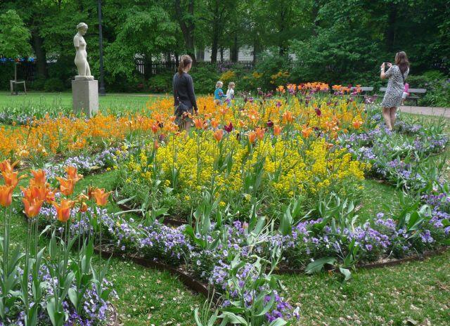 Blumen, Grün, Erholung in Göteborgs City - kein Geheimtipp mehr, aber immer noch toll