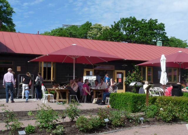 Rosenkafeet Göteborg, geheimtipp in der City
