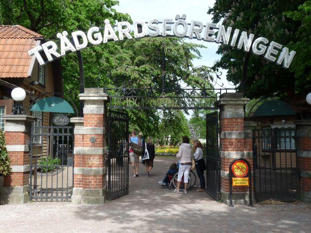 Oase in der City_ Trädgardsföreningens Park in GÖteborg