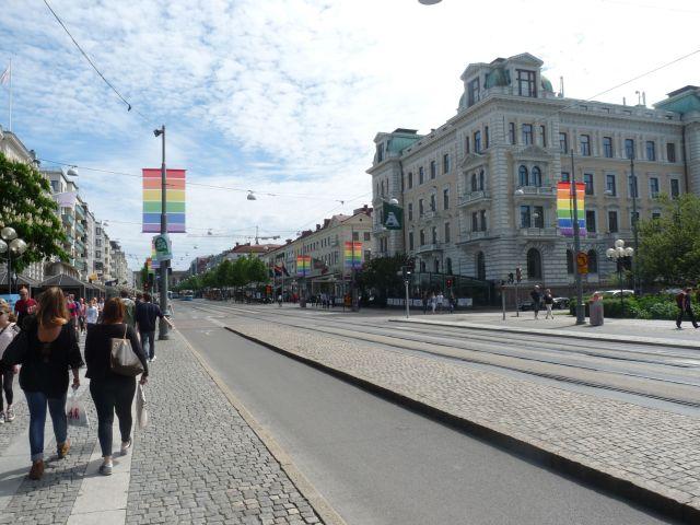 Göteborg rüstst sich für die West Pride, weltoffen und tolerant