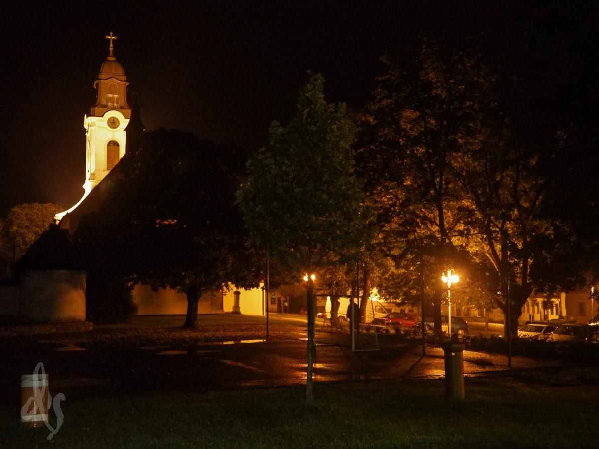 Nacht in Velké Pavlovice...