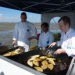 Ostfriesland: Scholle, direkt im Watt gebraten