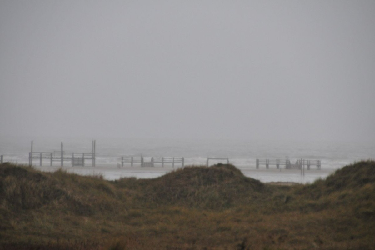 Winterstimmung in Sank Peter Ording
