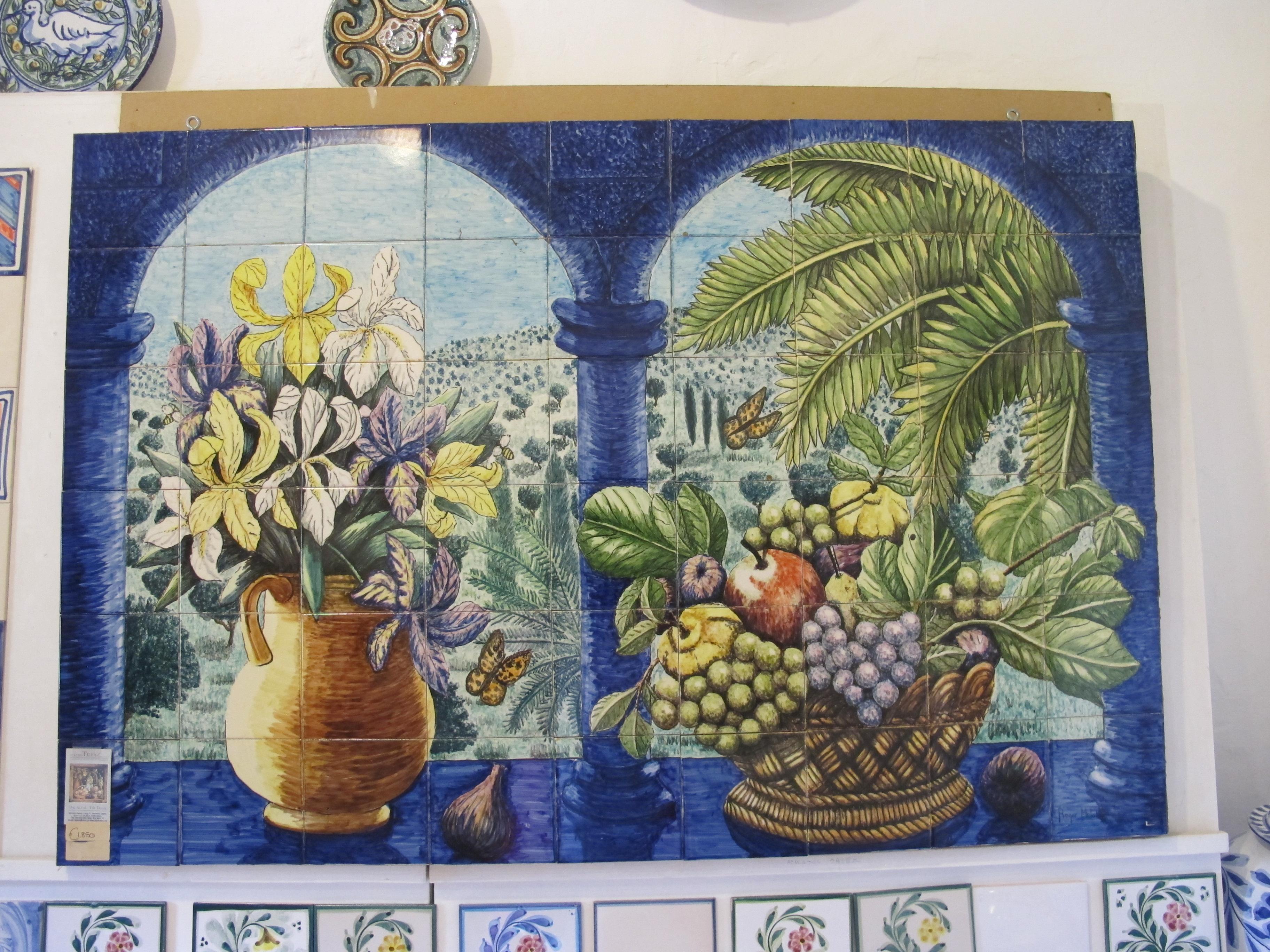 portugal alte keramik tradition an der algarve. Black Bedroom Furniture Sets. Home Design Ideas