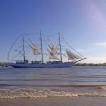 Schöne Schiffe schauen in Hamburg