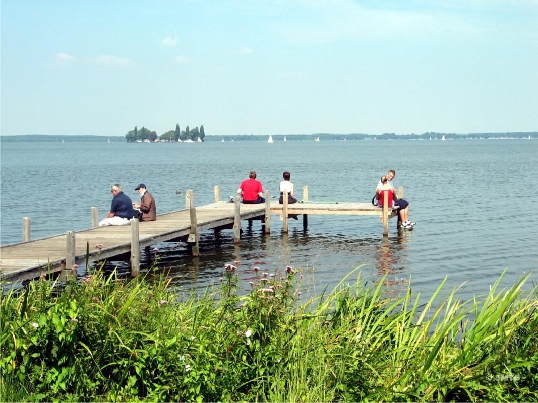 Am Steinhuder Meer, Blick auf Wilhelmstein (Foto: Steinhuder Meer Tourismus GmbH)