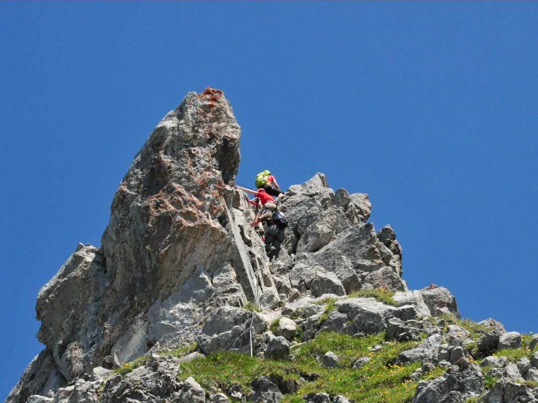 Klettersteig Norddeutschland : Klettersteig u2013 nervenkitzel an seil und haken