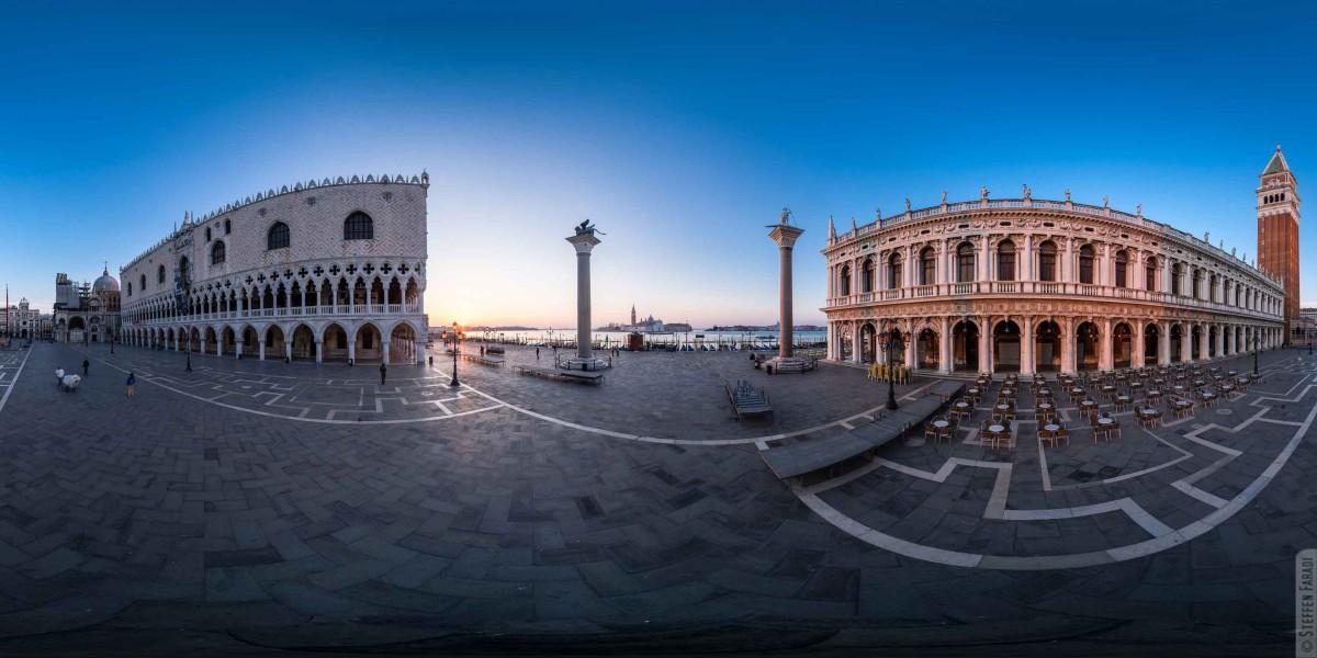 Panorama von Venedig für die Virtual Travel Lounge 360