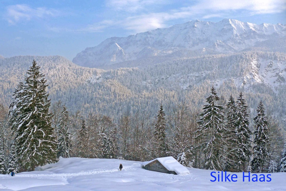 Winterlandschaft in Garmisch-Partenkirchen