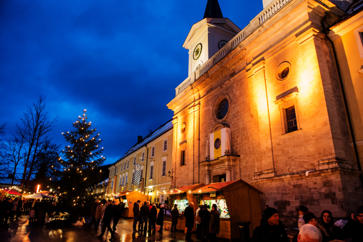 Tegernsee, Bayern, Reisefeder, Weihnachtsmarkt