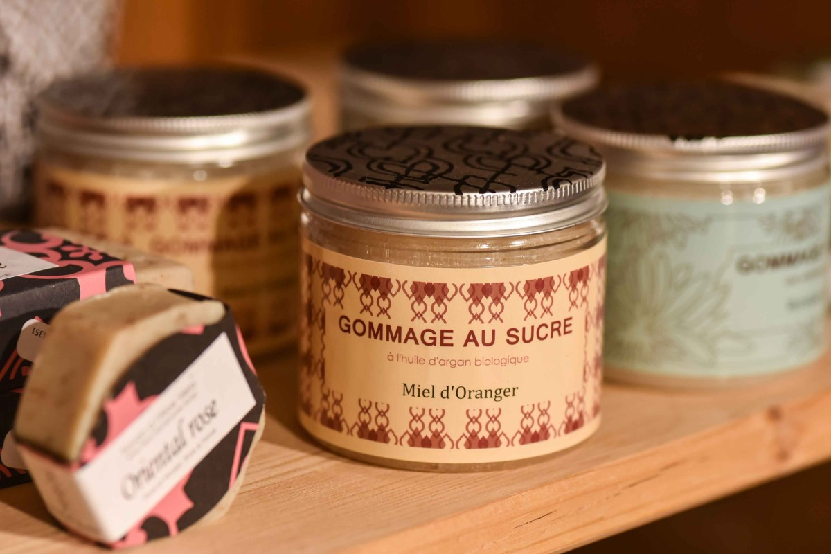Peelingprodukt aus Marokko