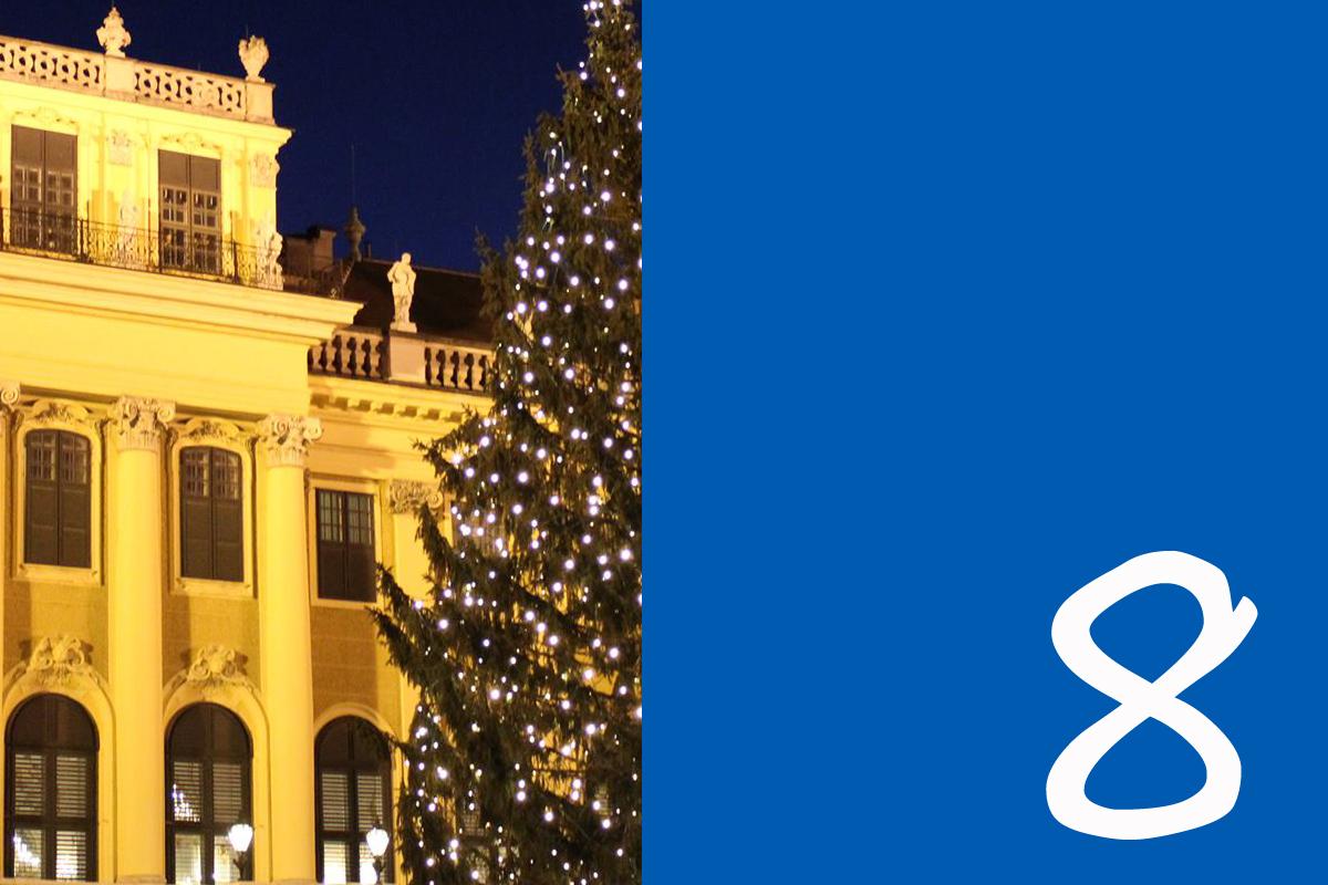 Wien, Weihnachtsmarkt, Schloss Schönbrunn