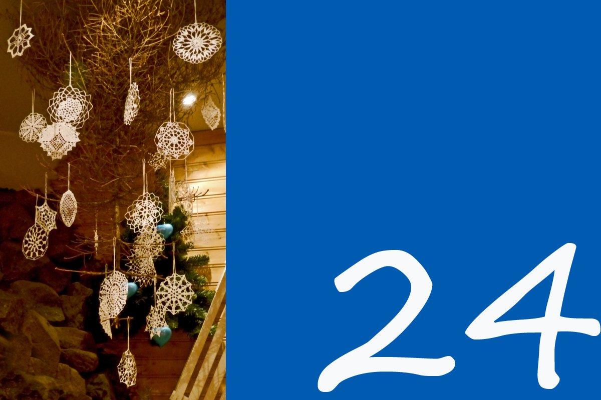 Kalendertürchen 24, Sterndekoration