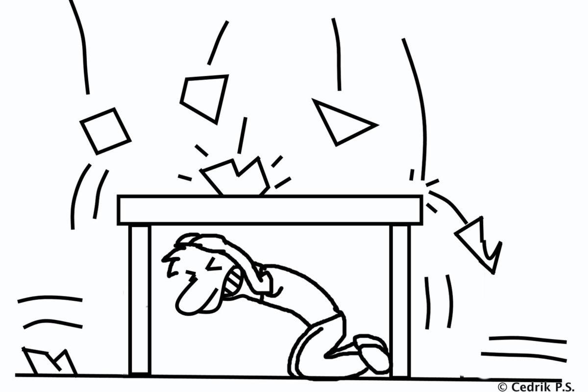 was tun bei einem erdbeben. Black Bedroom Furniture Sets. Home Design Ideas