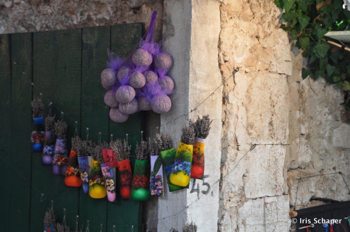 Getrockneter Lavendel in Rovinj