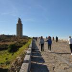 Auf dem ältesten Leuchtturm der Welt