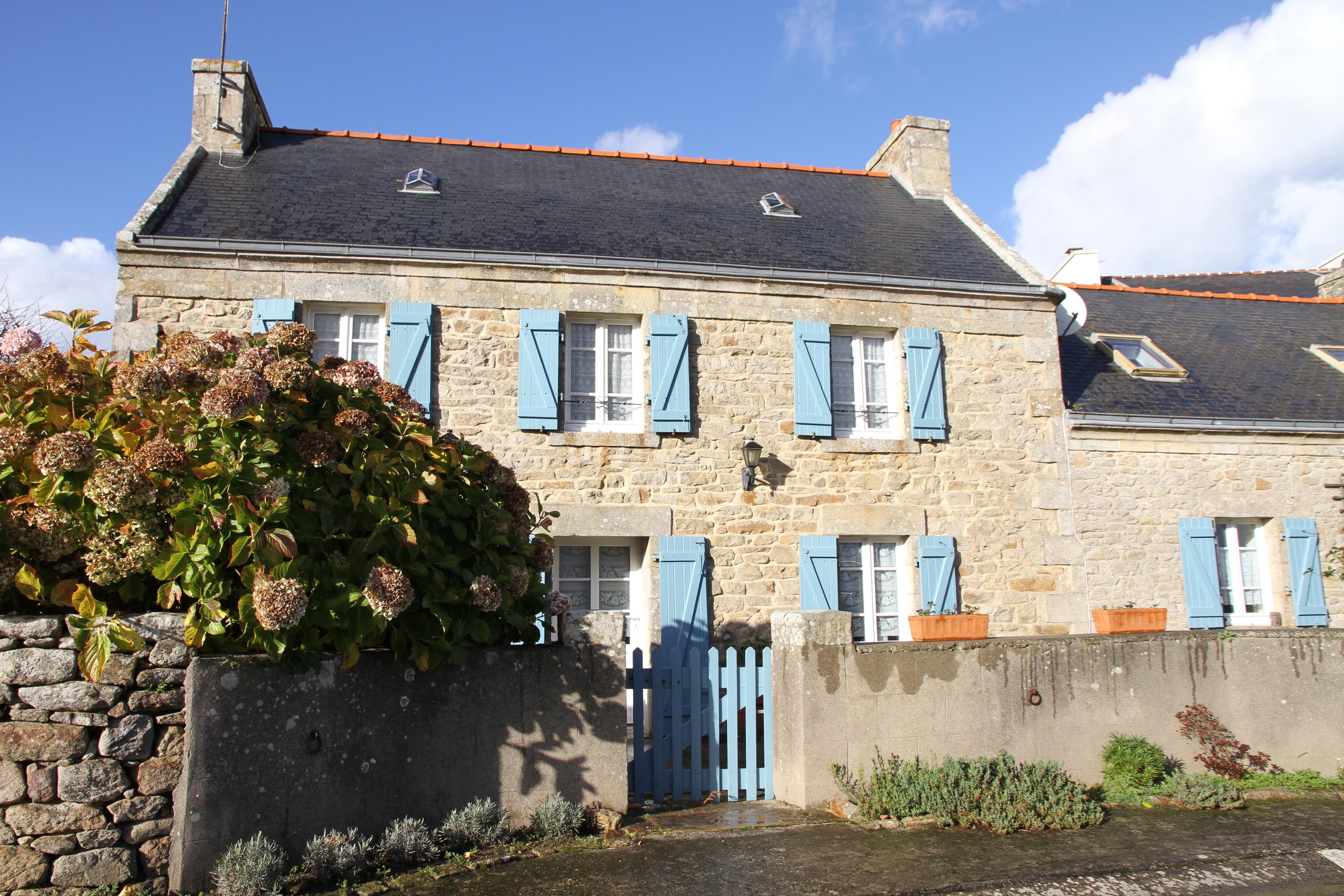 Bretagne, Gedicht, Haus, Architektur, Frankreich