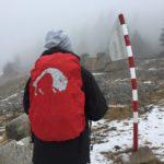 Harz: Auf den Brocken bei Schietwetter