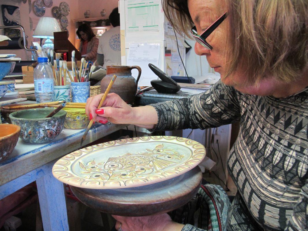 Algarve, Sommer, Portugal, Keramik, alte Tradition