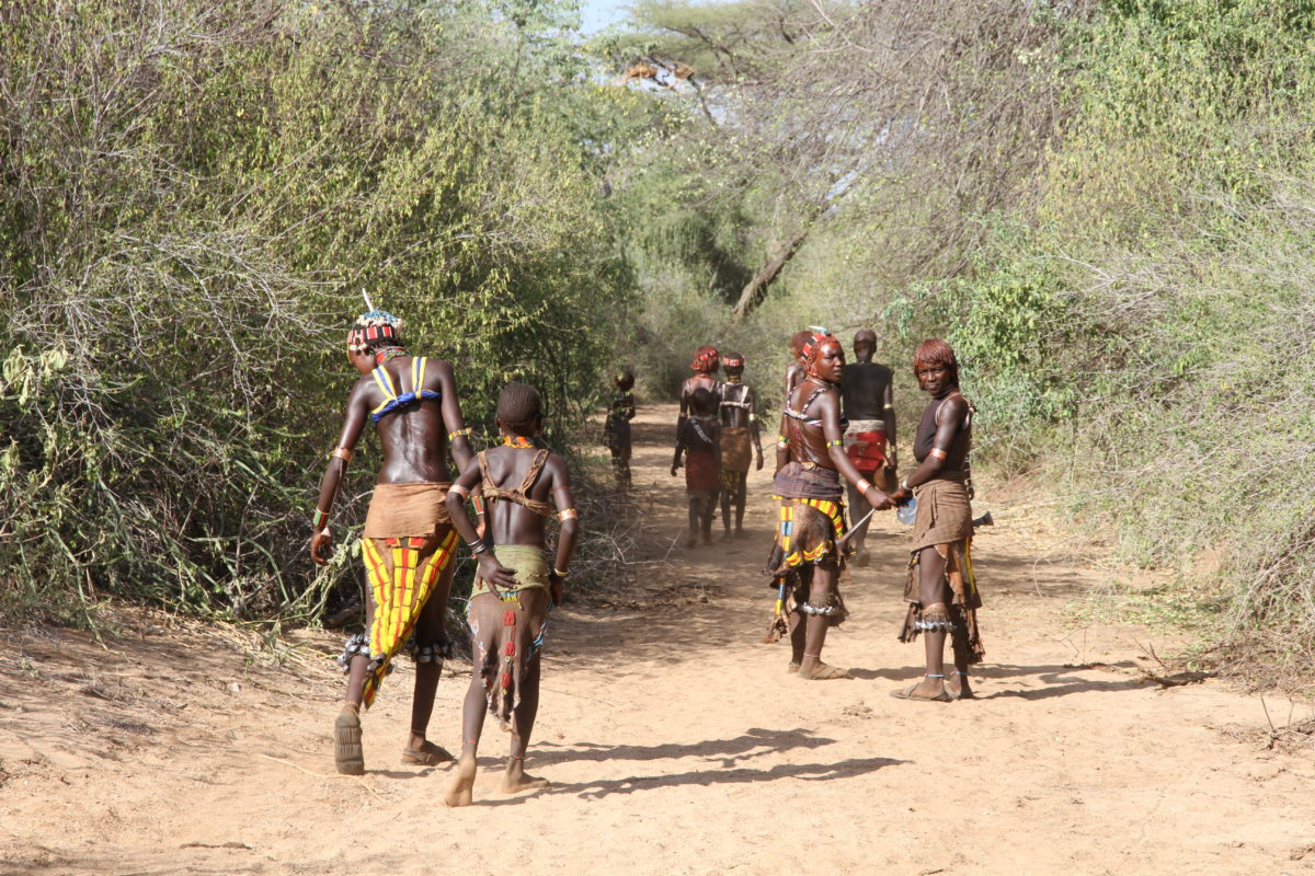Äthiopien, Karo-Volk