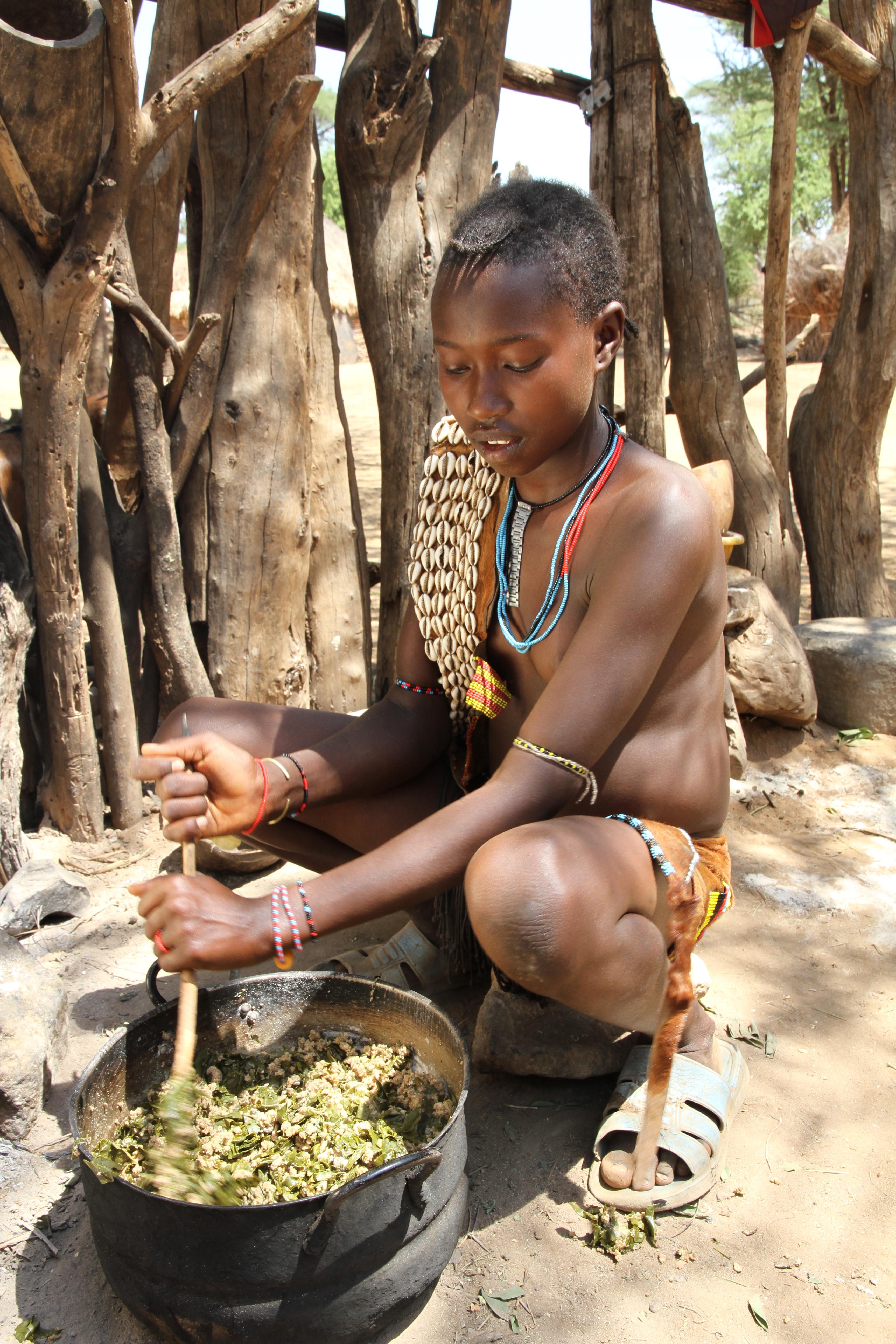Äthiopien, Urvölker