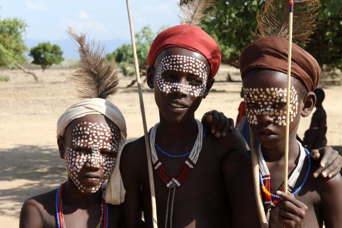 Äthiopien, Jungen, Karo-Volk, Urvölker