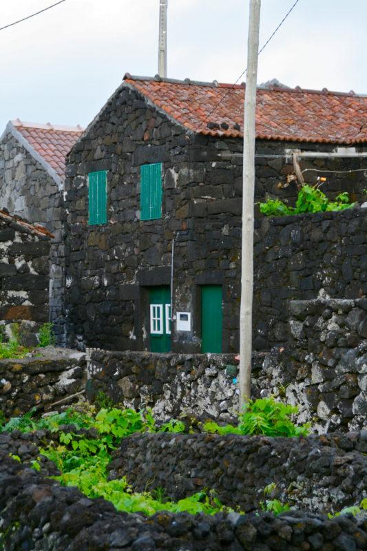 Azoren, Häuser