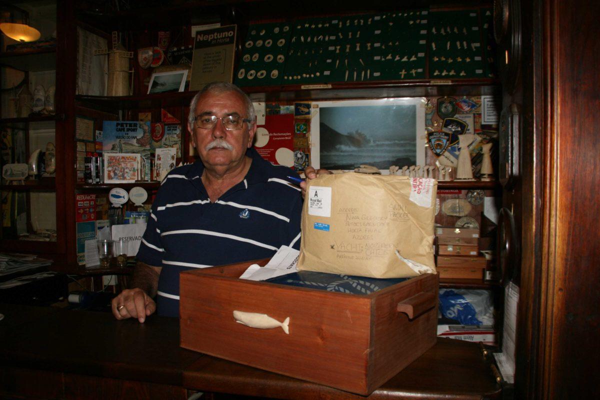 Azoren, Poststelle, Segler
