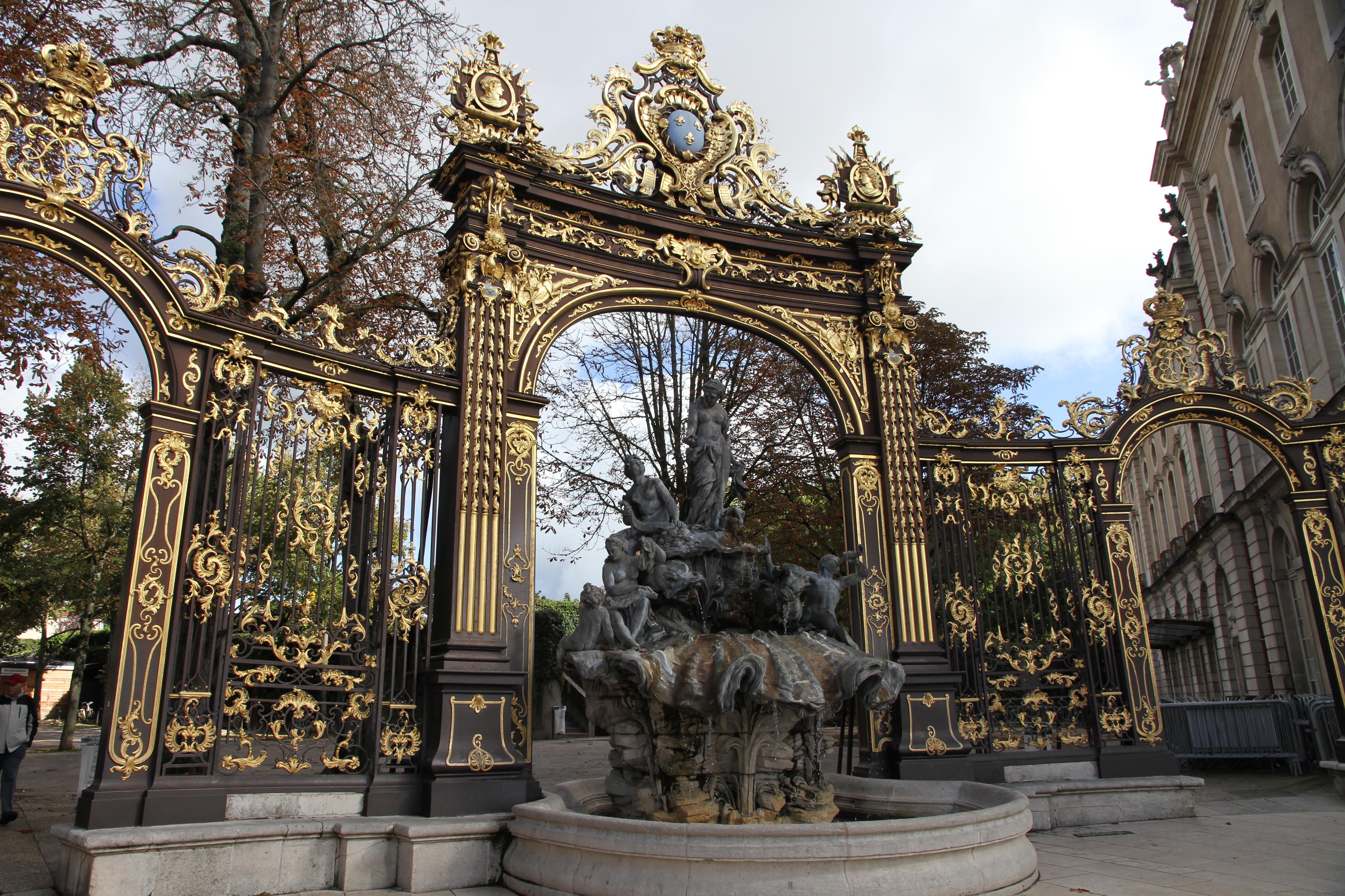 Nancy, historische Plätze