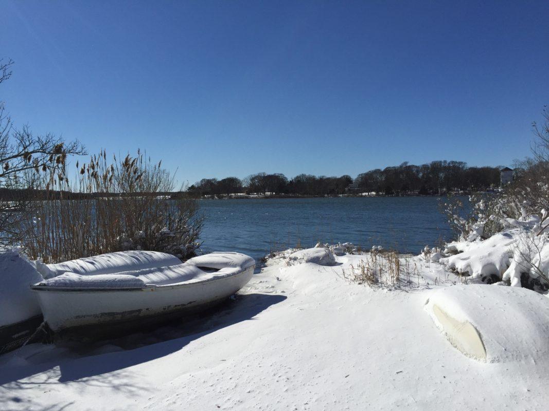 USA, Schnee, Long Island