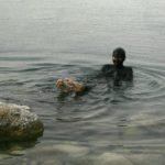 Jordanien: (Schlamm-)Baden im Toten Meer