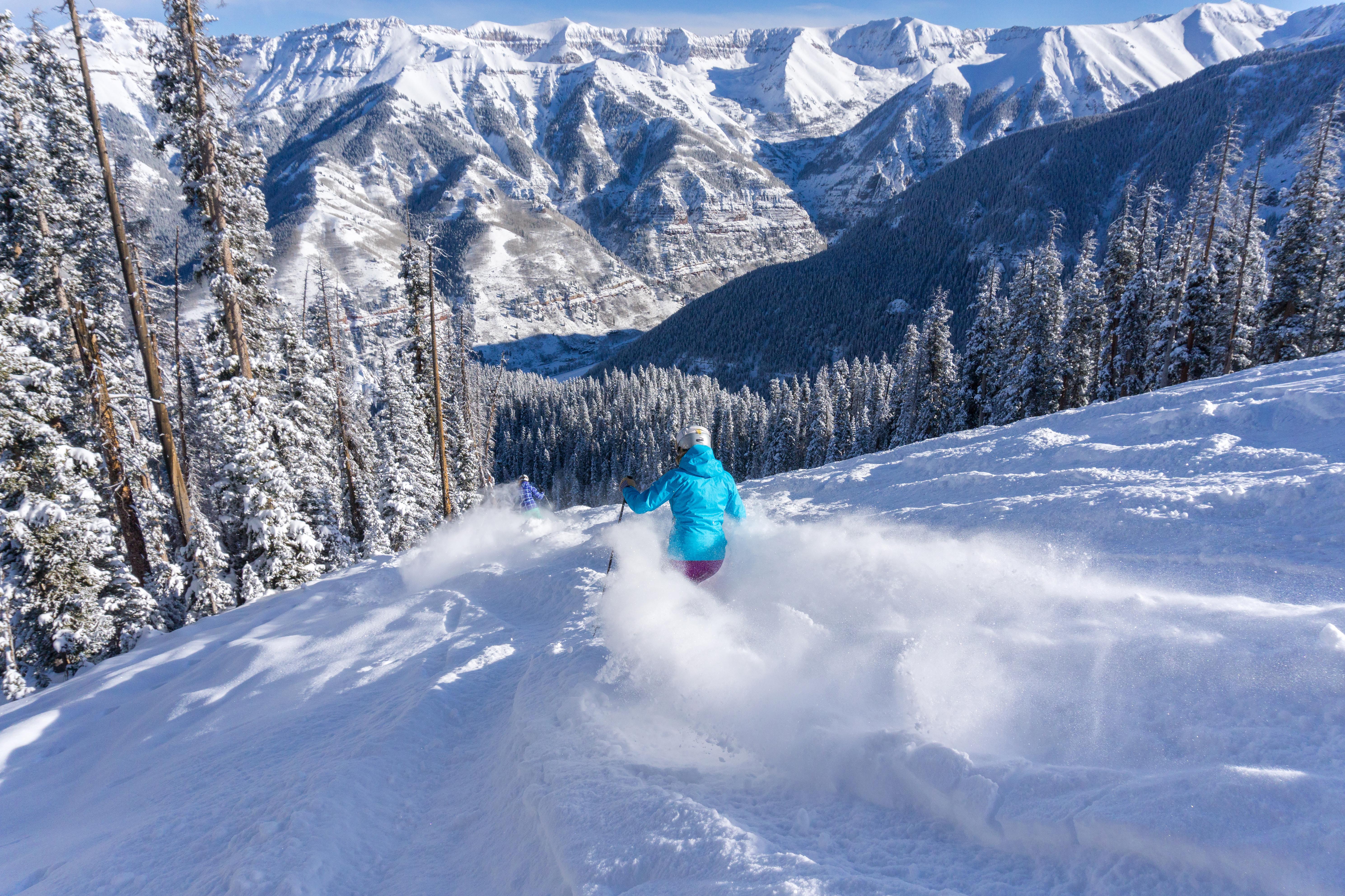 Bushwacker2, Telluride, USA, Skifahren