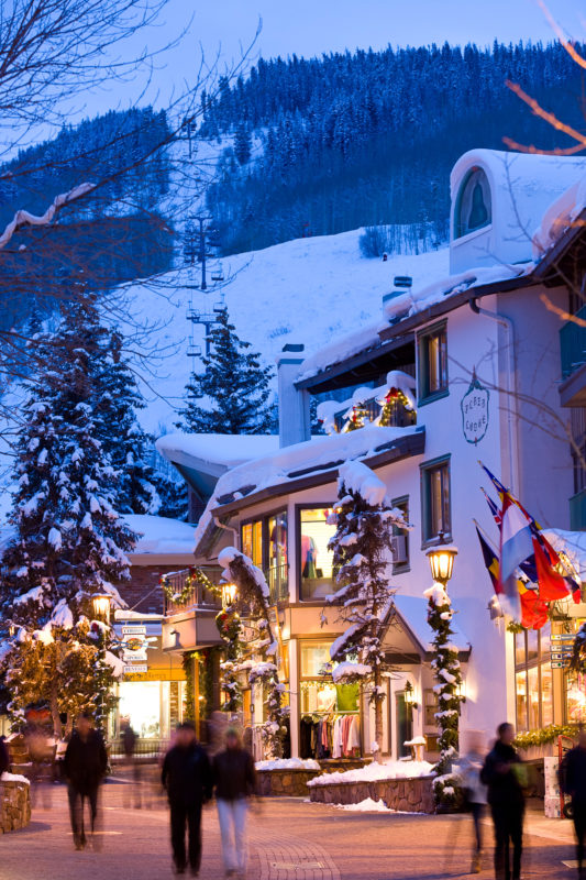 Vail, USA; Skifahren