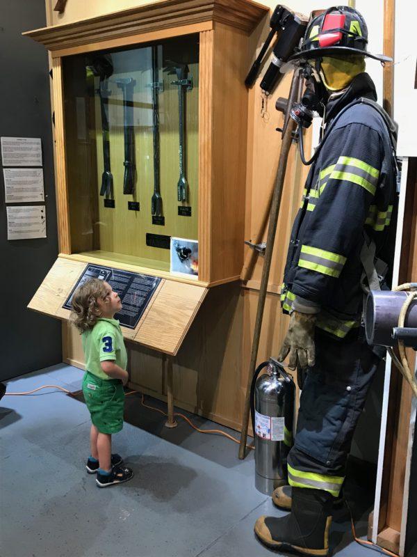 New York, Fire Museum Soho,