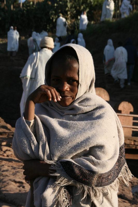 Äthiopien, Gläubige, Christentum