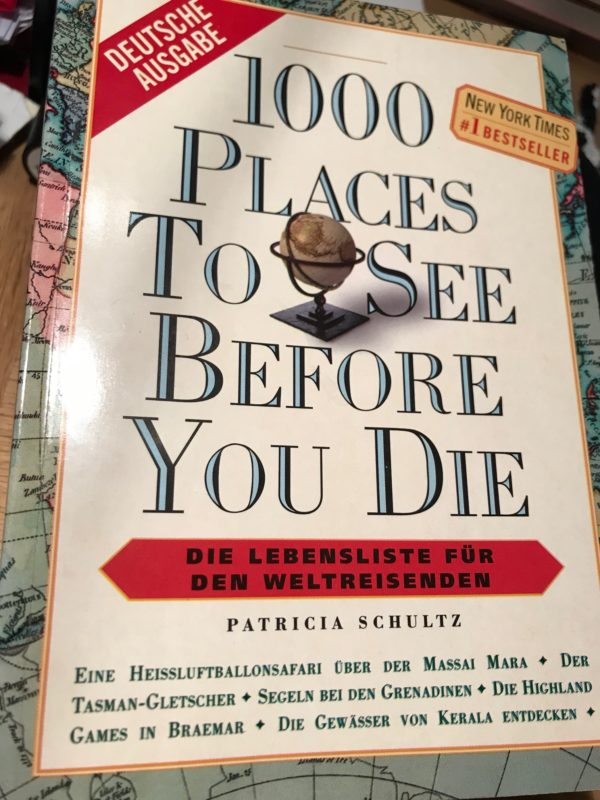 Reise, 1000 places to see before you die, Reise-Taschenbuch